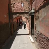Gasse - Marrakesch