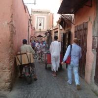 Ankunft Marrakesch