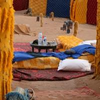 Bivouac Chegaga - Unser Schlafzimmer