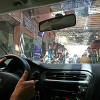 Auto fahren in Marrakesch