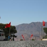 Marokko Fahnen