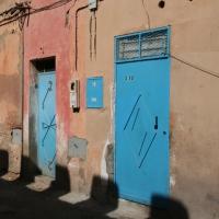Blaue Türen - Marokko